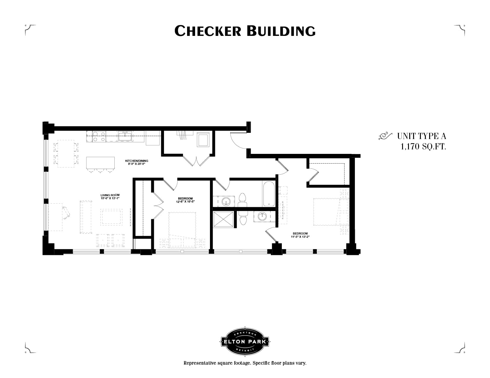 Checker Building Unit Type A