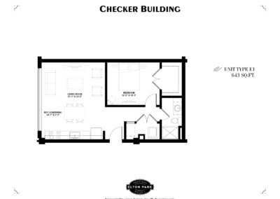 Checker Building Unit Type E1
