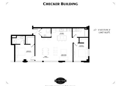 Checker Building Unit Type F