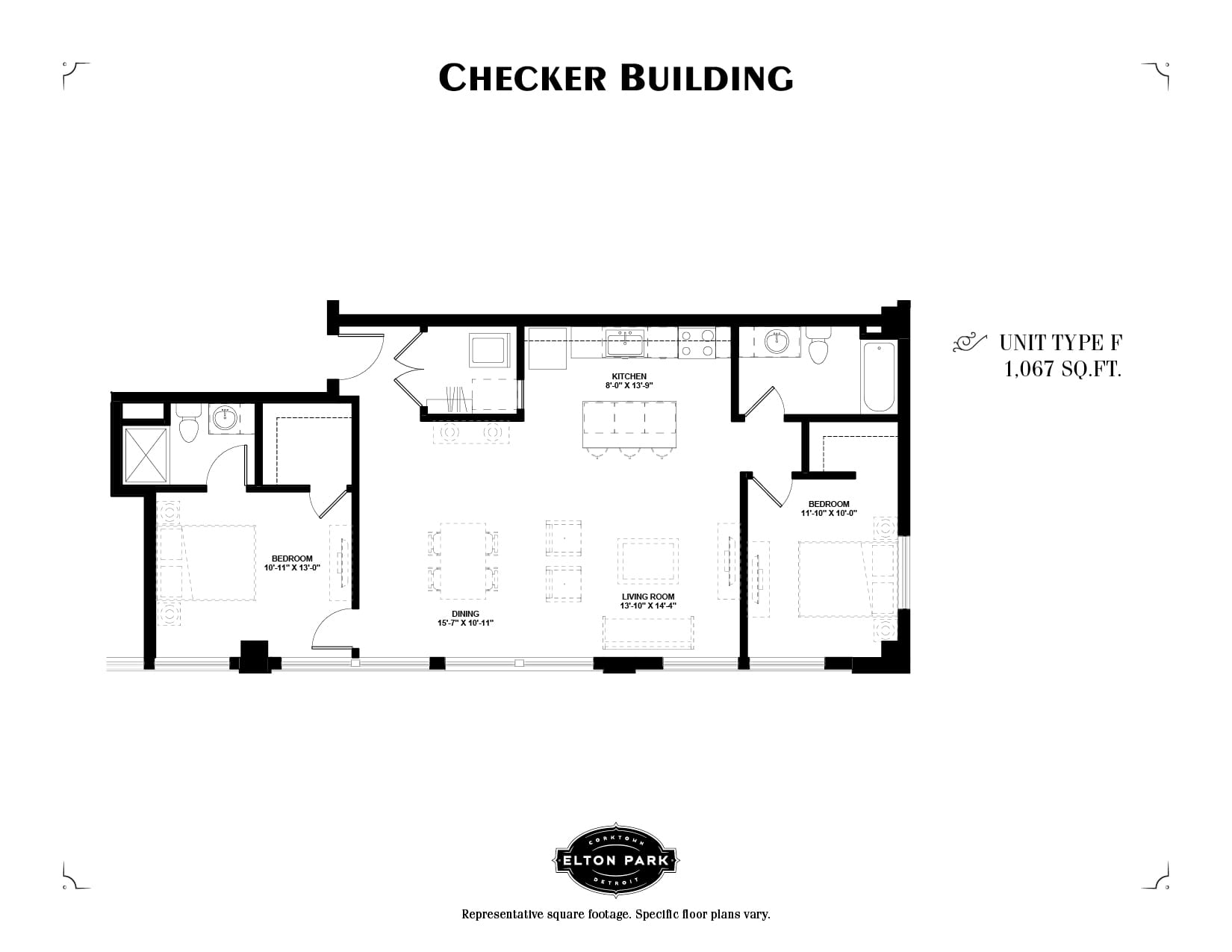 Checker Building Unit Type F