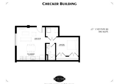 Checker Building Unit Type H1