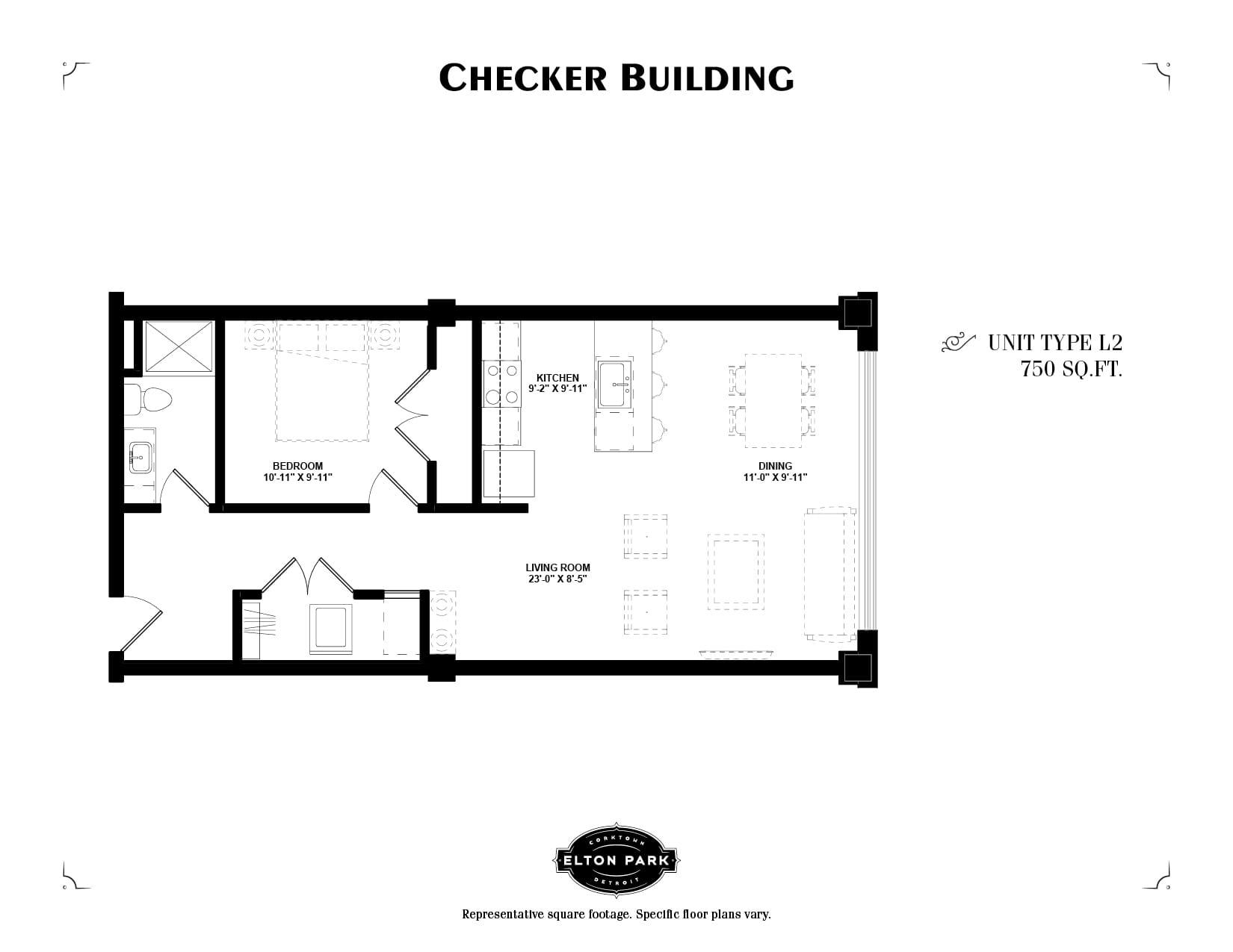 Checker Building Unit Type L2