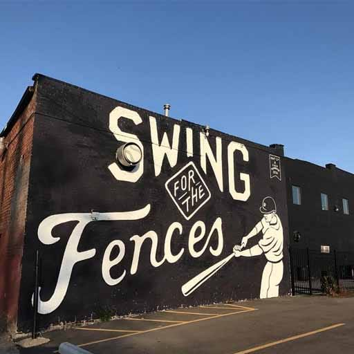 Wall Art - Swing for the Fences
