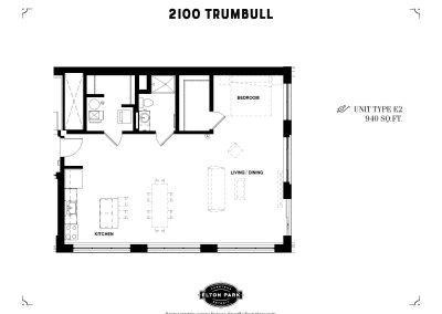2100 Trumbull Unit Type E2