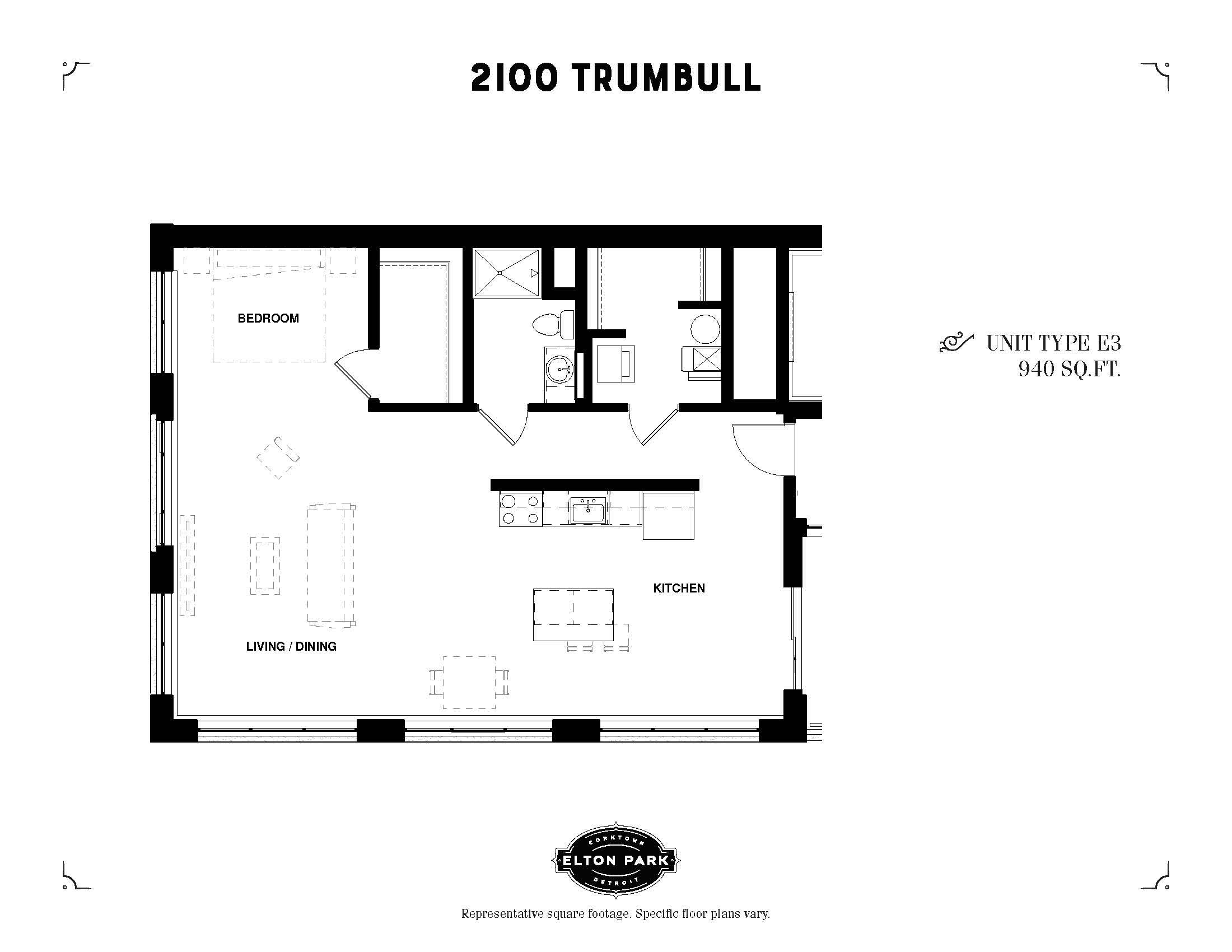 2100 Trumbull Unit Type E3