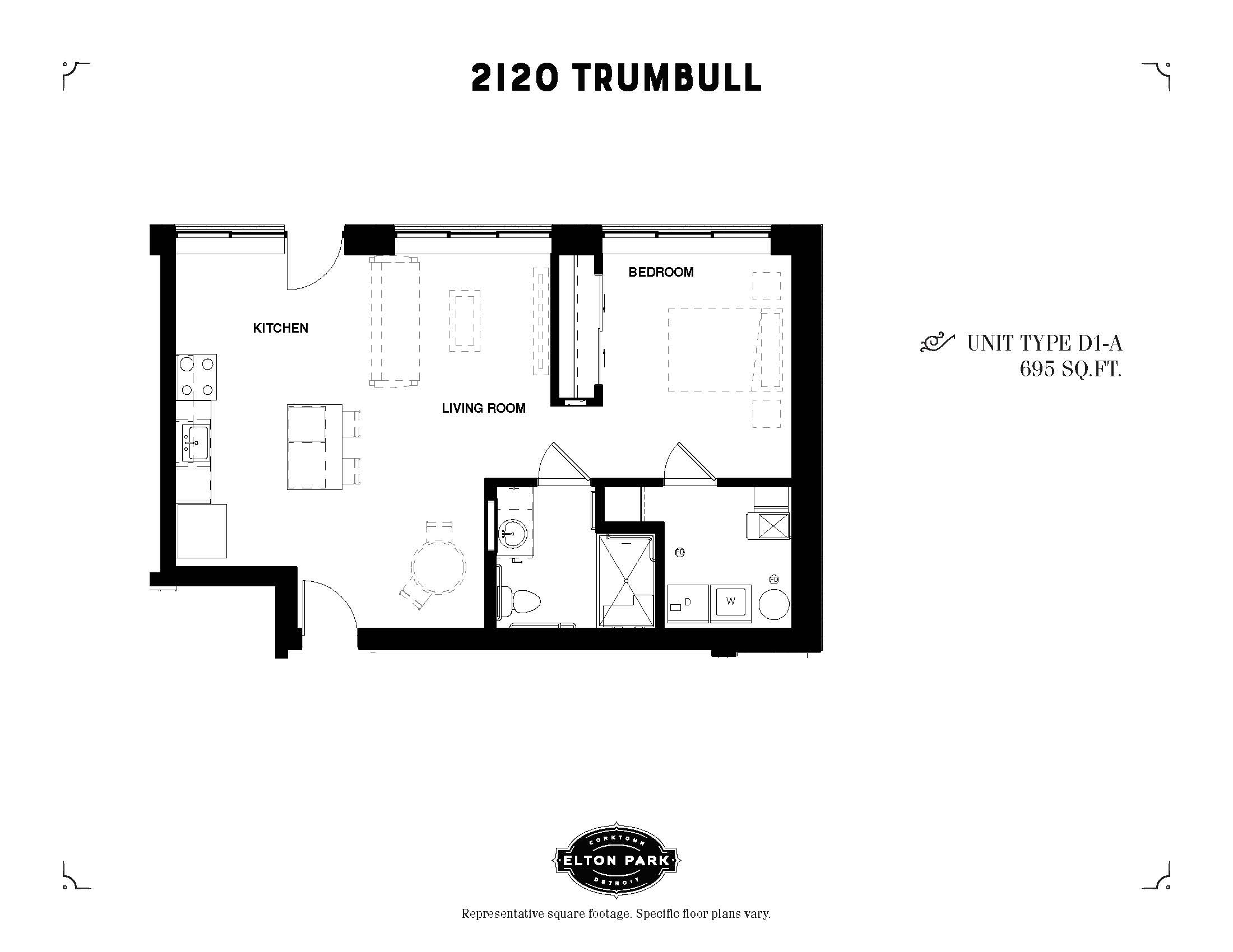 2120 Trumbull Unit Type D1-A