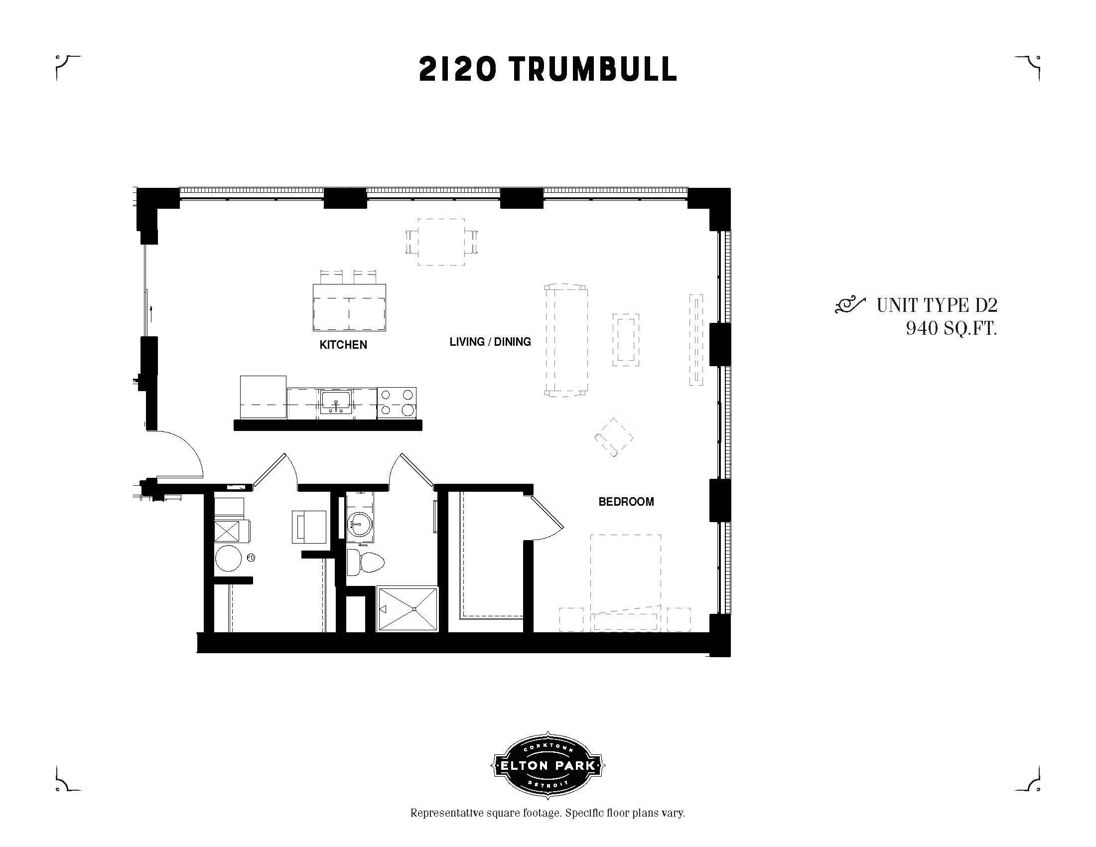 2120 Trumbull Unit Type D2