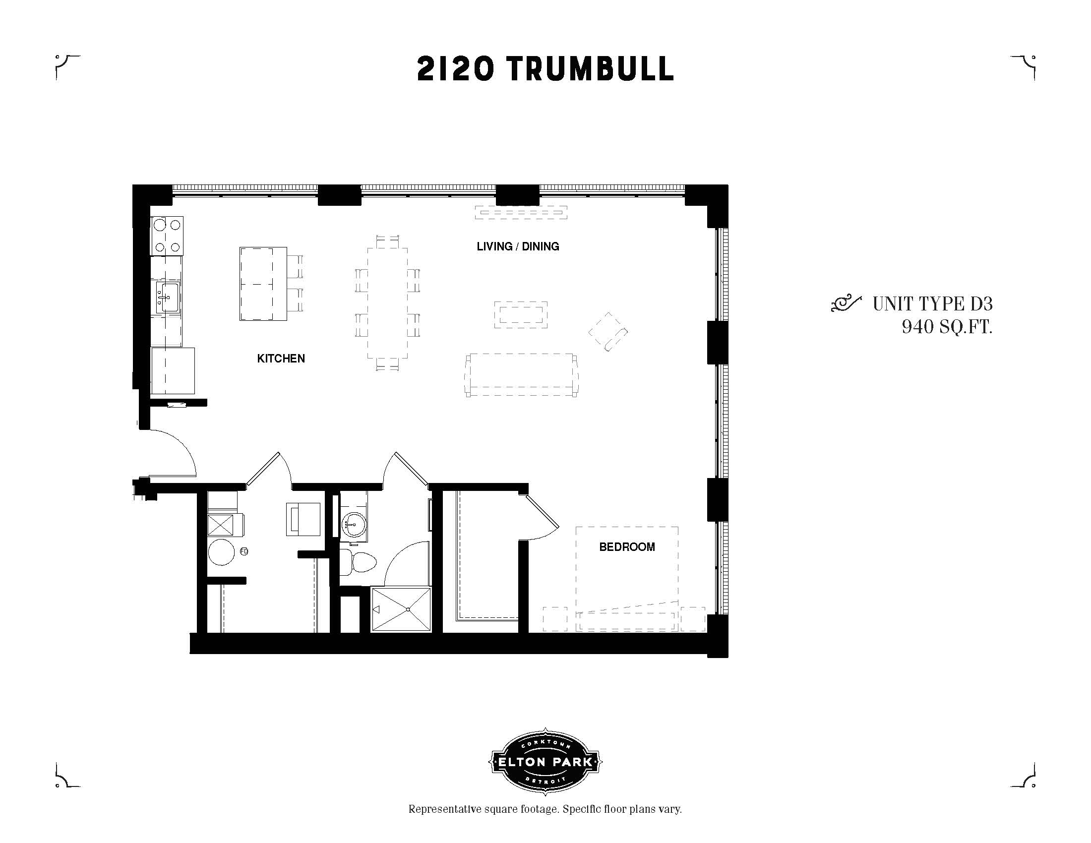 2120 Trumbull Unit Type D3