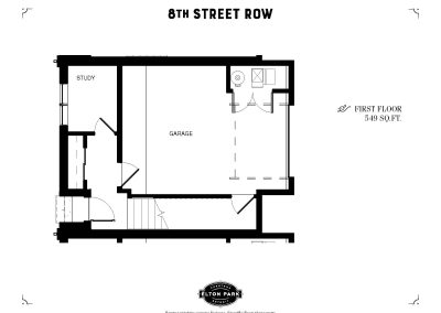 8th Street Row First Floor