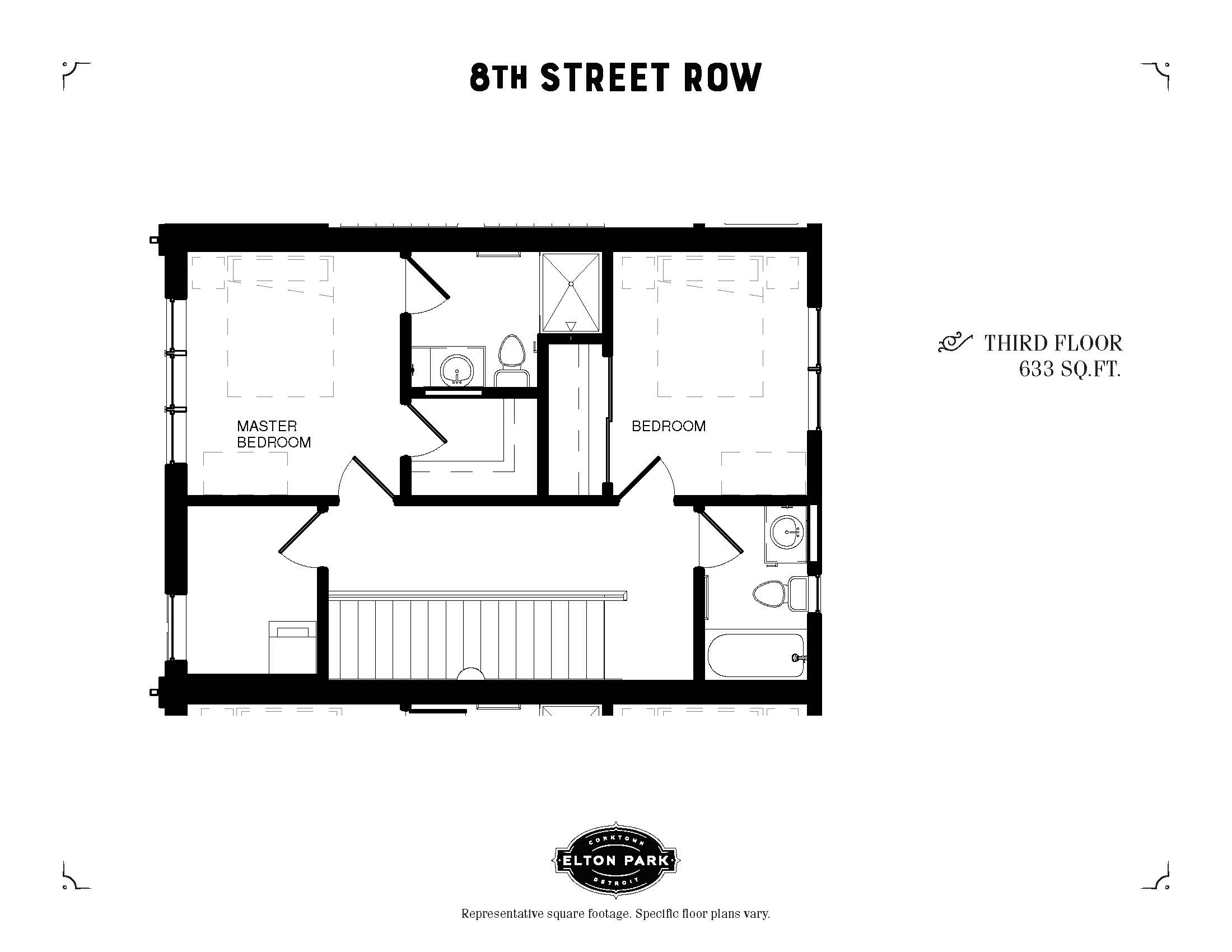 8th Street Row Third Floor