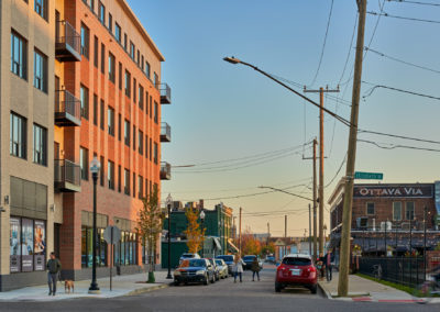 Crawford, across the street from Ottava Via, in Elton Park Corktown